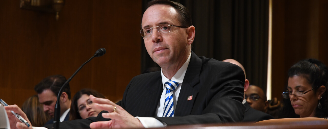 Deputy Attorney General Rosenstein Writes Op-Ed On Idea For Immigration Appellate Court