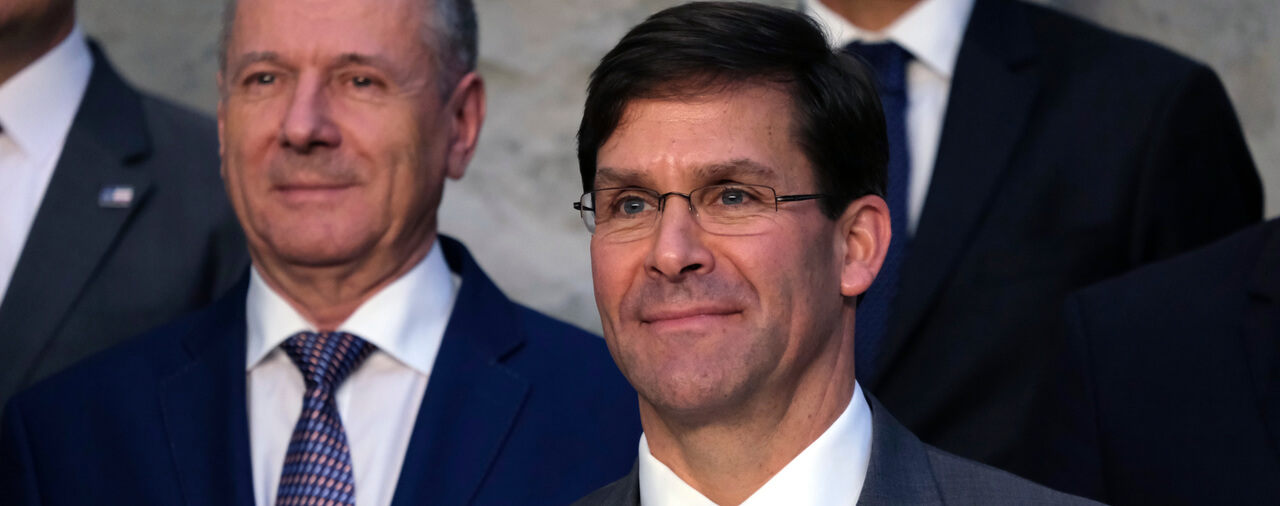 Senate Confirms Mark Esper as Secretary of Defense